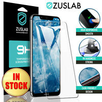 For Nokia 8.1 7.1 6.1 5.1 7 Plus 3.1 2.1 8 6 5 3 Tempered Glass Screen Protector