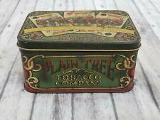 Vintage Tobacco Tin 3 Kings Sliced Plug Pocket Package Plain Tree Company