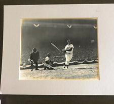VTG Ted Williams Boston Red Sox 1947 Original Dennis Michael Brearley Photo