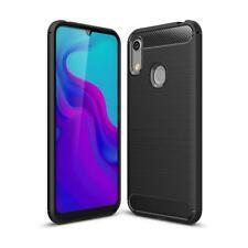 Huawei Y6 (2019) / Honor 8A Handy Hülle Silikon Case Schutzhülle Carbonfarben