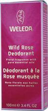 Deodorant Wild Rose by Weleda, 3.4 oz