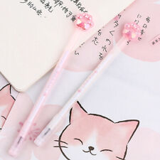 Neko Cat Paw Katzenpfote Stift Gelschreiber Manga Cosplay Rosa Weiß Kawaii