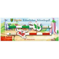 Die Spiegelburg® 11601 Ritterlicher Schreibspaß Vincelot 2 Bleistifte+Radierer