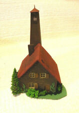 HO Scale Country Cottage Built Hand Painted Detailed ..LQQK ! BMB 13-7