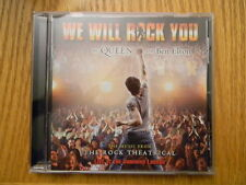 Queen -We Will Rock You -Cd-Music from The Rock Theatrical- Original London Cast
