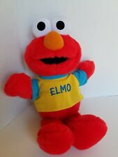 Elmo Toss And Tickle Me Plush 1997 Tyco Shirt Talking Laughing Wiggles Stuffed