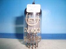 CV4003 MULLARD / VALVO # BOX PLATES # ( E82CC # ECC802S ) # NEAR NOS (602)