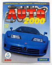 BAIO Italy AUTO 2000 Collectible Sticker Album NEW (w/o Stickers)