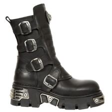 New Rock Buckle Combat Boots for Men