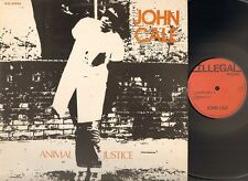 "JOHN CALE Animal Justice 12"" Inch 3 track 1977 Related Velvet Underground"