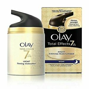 Olay Total Effects 7-In-1 Anti Ageing Night Skin Cream - 50 Gram Free Shipping