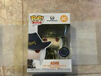 Funko Pop Games Ashe 441 Overwatch Blizzcon Blizz Con 2018 Exclusive Variant