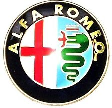Alfa Romeo 147 Fixed Boot Lid / Tailgate Badge 46822713 New Official Genuine