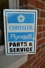 Plymouth Service sign 68 GTX 69 Road Runner70 cuda 69