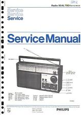 Philips Original Service Manual für  90 AL 780