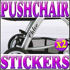PERSONALISED BABY STICKERS FOR PUSHCHAIRS Custom Decals For Pram Buggy Quinny 3D