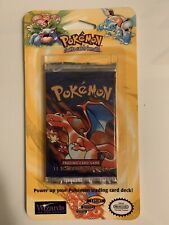 1999 Pokemon Shadowless Blister Pack Sealed Vintage Charizard! Heavy Pack!!!