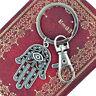 Fatima Hamsa main bonne chance oeil pendentif porte clé porte-clés trouss BB