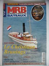 MRB - Modèle Réduit de Bateau #489 (REVUE) Le Christiaan Brunings - Sea-Cret