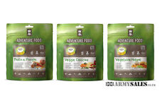Expedition Quality ADVENTURE FOOD - 3 Meal Pack - VEGETARIAN TRIO