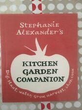 STEPHANIE ALEXANDER'S ~ KITCHEN GARDEN COMPANION ~ MINI COOKBOOK ~ BRAND NEW ~