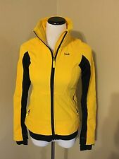 Lolë Women's Jacket Yellow Black Athletic Active Fall Winter Quality Sz XS 2-4