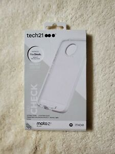 Tech21 Evo Check MotoZ2 Play Clear/White - NEW