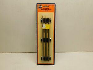 "Lionel 6-12840 O Gauge Tubular 10"" Insulated Straight Track - NOS"