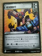 Transformers TCG - Wave 5 - Headbutt - R 023/064