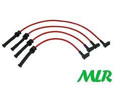 Rojo 8MM Silicona Encendido Ht Lleva Cables Renault Clio 172 RS 2.0 16V fase 1 Bf