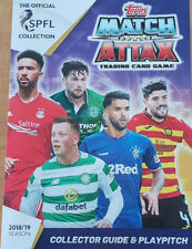 Topps Scottish Premiership SPL Match Attax Complete Team Sets 2018/19 No m.o.m