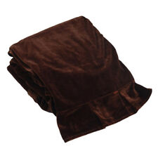 Piano Dust Proof Full Cover Piano Cover Cloth for Upright Piano Coffee