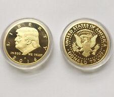 2016 US President Donald Trump Inaugural Gold EAGLE Commemorative Novelty Coin