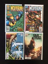 4 Issue Lot - Wolverine 125, 128 Wolverine And The X-Men 2 Old Man Logan 3