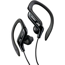 JVC Sport Clip Design Stereo Wired Earclip Headphone in Black
