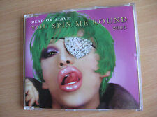 Dead or Alive You spin me Round Maxi CD 2003