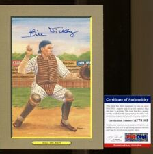 Bill Dickey Signed Perez-Steele Great Moments Card Autographed Yankees PSA/DNA