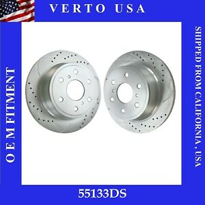 Rear Brake Rotors For Chevrolet Avalanche, Silverado 1500, Suburban 1500, Tahoe