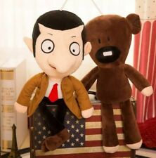 Peluche Mr Bean e Teddy 30 cm set 2 pezzi