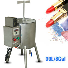 4 Gallon Lipstick Filling machine Hand Soap Made Filler W/ Heat Stirred Tank New