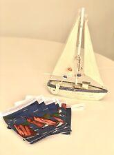 Handmade Seasalt Fabric Bunting Sailing Boats Lottie 2m