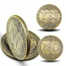 L;ucky YES or NO three-dimensional embossed Bronze Collection Coin Gold Coins