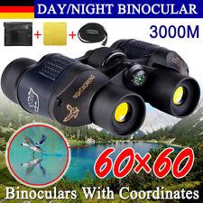 60x60HD Fernglas Ferngläser Fernrohr Feldstecher Telescope Nachtsicht Binoculars