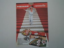 advertising Pubblicità 1973 CARAMELLE PERUGINA ROSSANA/CINZIA/ARCOBALENO