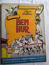 BEN-HUR  (SAMEDI JEUNESSE 33) 1960 RARE
