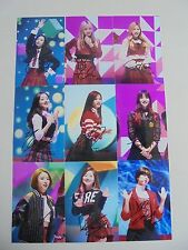 TWICE Korean Pop All Member Signed 9 Photos 4x6 Autographed USA SELLER 6