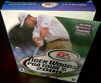 Tiger Woods PGA Tour 2000, Golf, EA Sports (PC, 2000) NISB