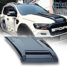 Bonnet Hood Scoop Gloss Black ABS Cover For Ford Ranger Mk2 Px2 XLT 15 16 17