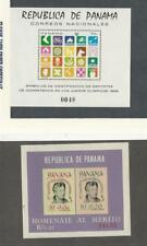 Panama, Postage Stamp, #495, C330a Mint NH Sheets, 1964-8