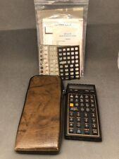 HP-41CX Vintage Scientific Calculator, Halfnut Very Good Condition HP 41CX